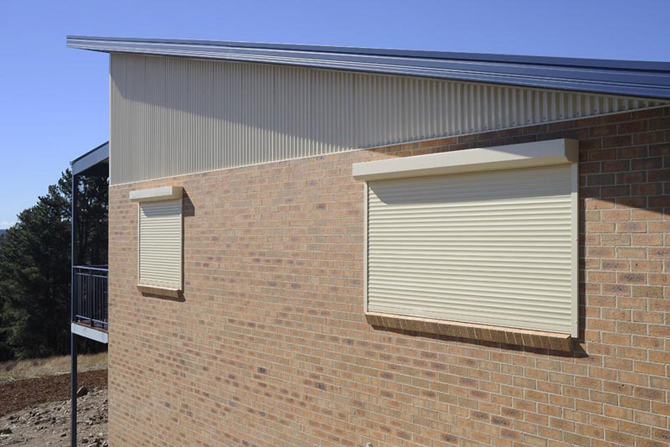 Exterior Roller Shutters Davidson Blinds And Shutters