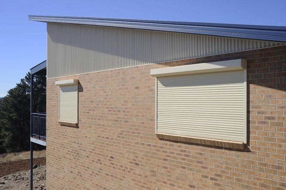 Exterior Roller Shutters Davidson Blinds And Shutters Ballarat